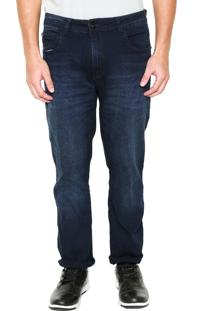 Calça Jeans Ellus Slim Lisa Azul
