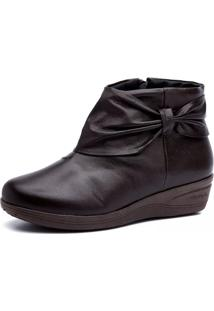 Bota Anabela Doctor Shoes 158 Café