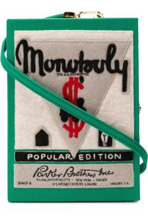 Olympia Le-Tan Bolsa Clutch 'Monopoly Popular Edition' - Verde