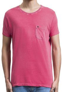 Camiseta Salt35G Pocket Pink Rosa
