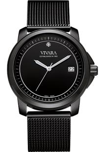 90b8bd7189f Relógio Digital Aco Preto feminino