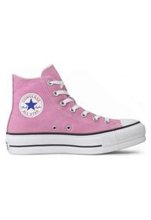 Tênis Converse Chuck Taylor All Star Seasonal Lift Hi Rosa Flamingo Ct12000036.33