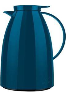 Garrafa Térmica Invicta Bule Viena Com Gatilho 1L - Unissex-Azul