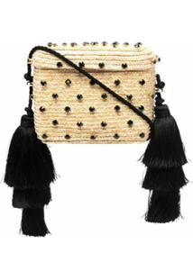 Le Nine Carol Woven Shoulder Bag - Neutro