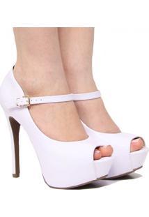 600e6eca6c Sapato Fivela Noiva feminino