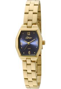 Relógio Condor Mini Dourado - Co2035Kmg/4A