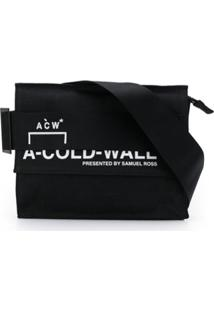 A-Cold-Wall* Pochete Com Estampa De Logo - Preto