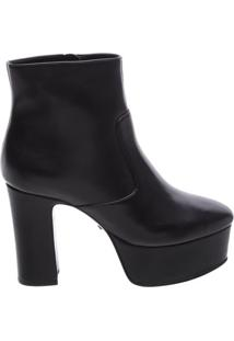 Ankle Boot Maxi Plataform Black | Schutz