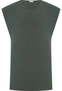 Colete Masculino Tricot Pure - Verde