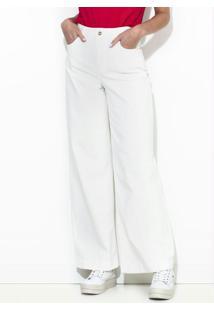 Calça Sarja Pantalona Off White