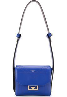 Givenchy Bolsa Tiracolo Com Logo - Azul