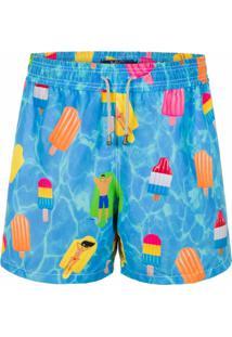 Short Mic Fun Poolcolé Azul