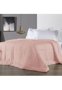 Edredom Queen Altenburg 230 Fios Antimicrobiano Com Tencel Four Seasons Rosebloom - Rosa Rosa