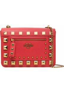 Love Moschino Studded Tote Bag - Vermelho
