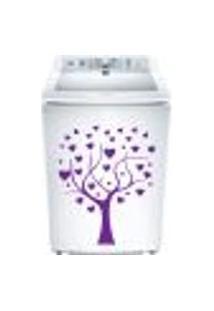 Adesivo Para Maquina De Lavar Arvore Com Coração 2