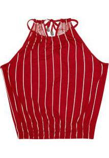 Blusa De Alca Rovitex Vermelho