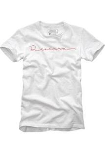 Camiseta Reserva Um Cartão Reserva Masculina - Masculino-Branco