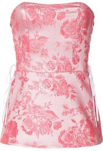 Manning Cartell Bustier 'Kyoto Calling' - Pink & Purple