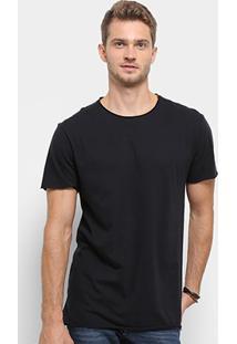 Camiseta Reserva Long Leve Masculina - Masculino-Preto