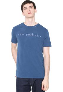 Camiseta Calvin Klein New York Azul