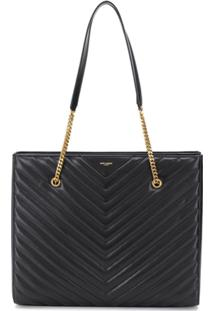 Saint Laurent Bolsa Tribeca - Preto