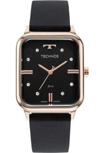 Relógio Technos Analógico Feminino - Feminino-Preto