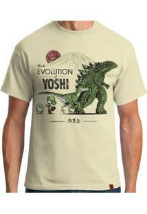 Camiseta The Evolution Of Yoshi