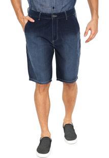 Bermuda Jeans Cavalera Chino Desert Azul-Marinho