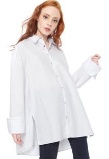 Camisa Colcci Ampla Branca