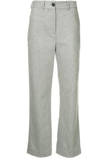 Rag & Bone Libby Cropped Trousers - Cinza