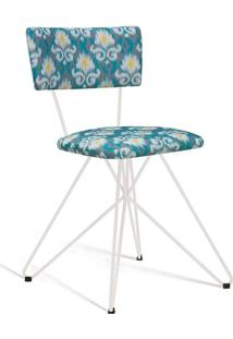 Cadeira Butterfly Branco E Cinza