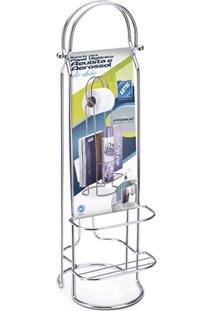 Porta Papel Higiênico Premium Cromado