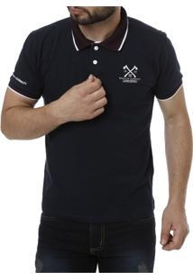 Camisa Polo Manga Curta Masculina - Masculino