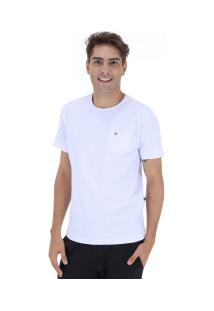Camiseta Hd Holog Pocket - Masculina - Branco