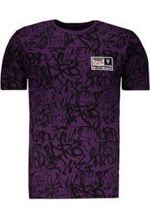 Camiseta Fatal Especial - Masculino-Roxo