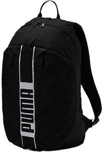 Mochila Puma Deck Backpack Ii - Unissex-Preto