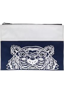 Kenzo Clutch Tiger - Azul
