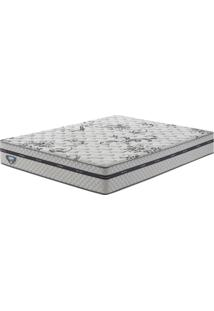 Colchão Queen Size Com Molas Superlastic Grand Support Ii Branco 158X198X25 - Ecoflex