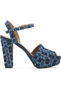 Sonia Rykiel Sandália Jeans 'Mme Rykie' - Azul