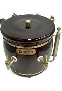 Chopeira Mogno 2 Torneiras - Art Chopp