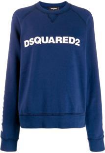 Dsquared2 Logo Pullover - Azul