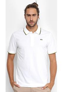 ... Camisa Polo Lacoste Bordada Masculina - Masculino 945455476f214