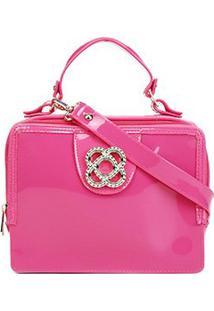 Bolsa Petite Jolie J-Lastic Feminina - Feminino-Pink