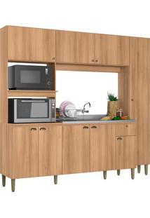 Cozinha Compacta Thb Moderna, Acácia