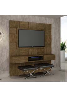 Painel Para Tv 60 Polegadas Caeté Ipê 200 Cm