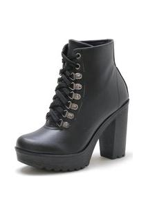 Bota Navit Shoes Tratorada Copenhagen Preta