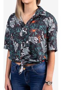 Camisa Viscose Tiger 800035