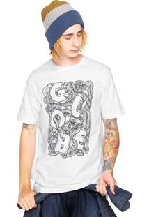 Camiseta Globe Nest Of Snakes Branca