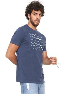 923e13fd67 ... Camiseta Hang Loose Estampada Azul-Marinho