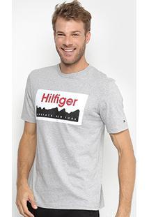 Camiseta Tommy Hilfiger Patch Masculina - Masculino